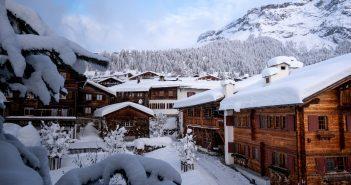 Working in a ski resort