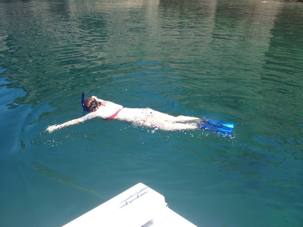 Snorkeling in Loreto mexico
