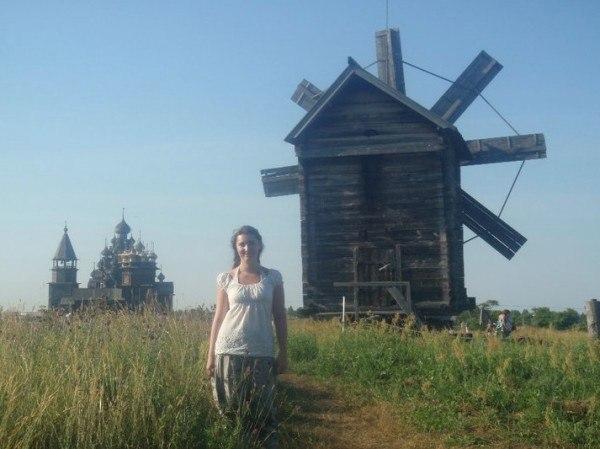 Masha of Unlikely Pilgrim