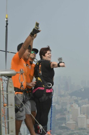 bungee jumping in Macao: what its like