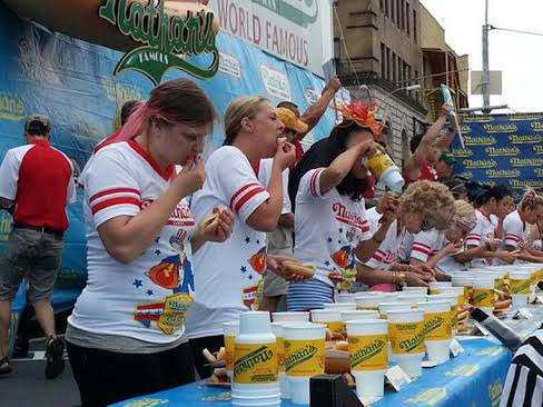 val hot dog contest