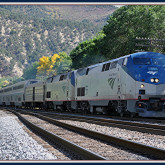 Westbound - California Zephyr @ Glenwood Springs Co.