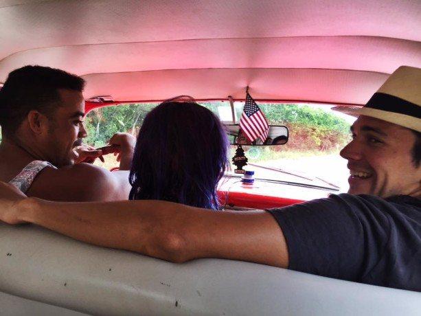 Cristian, a tour guide in cuba