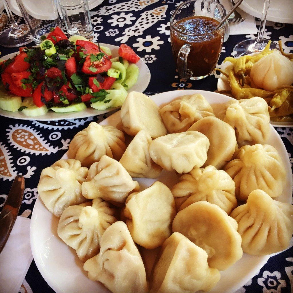 khinkali, georgian food