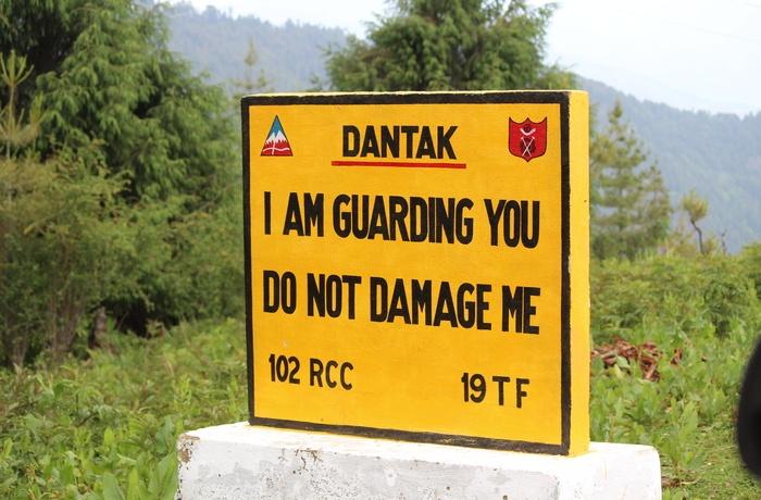 Signs in Bhutan
