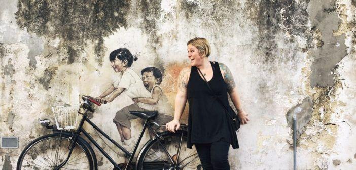 A Street Art Tour of George Town, Penang