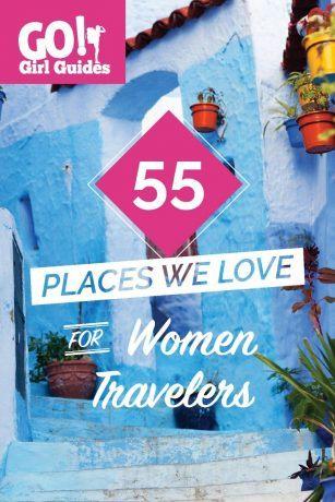 travel guidebooks for women
