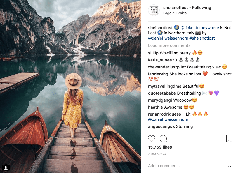 best hashtags to reach women who travel