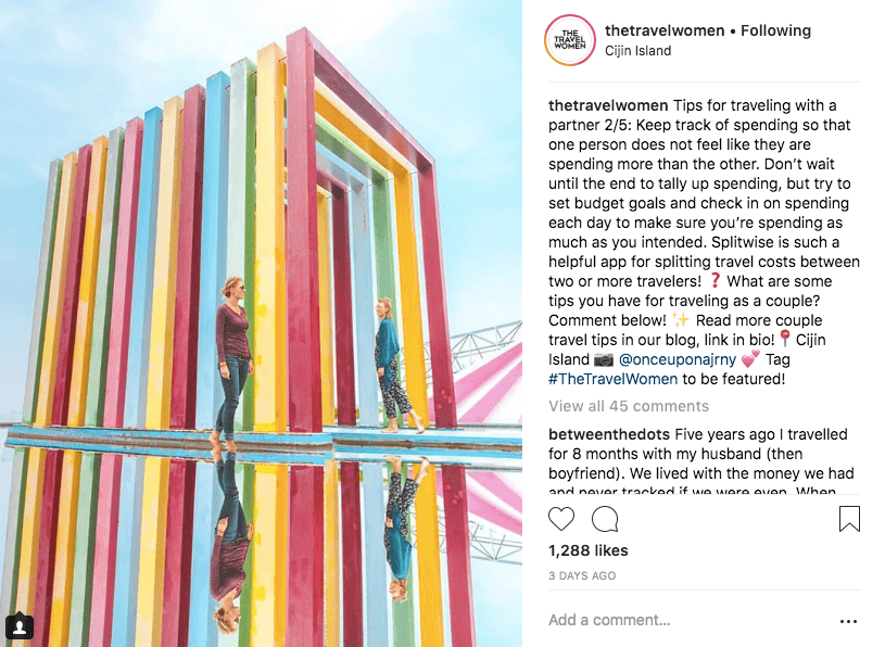best hashtags for instagram solo travelers