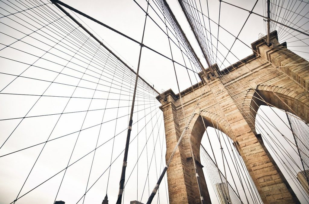 The Brooklyn Bridge is one of the most instagrammable spots in NYC