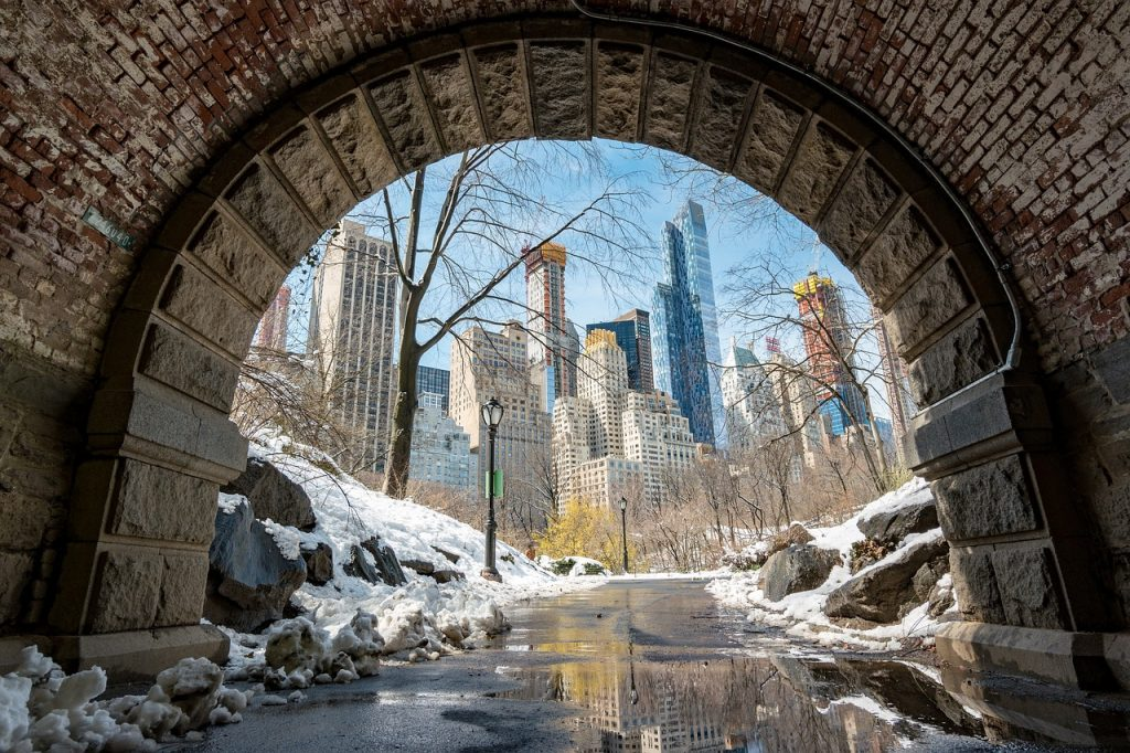 Central Park is one of the most instagrammable spots in NYC