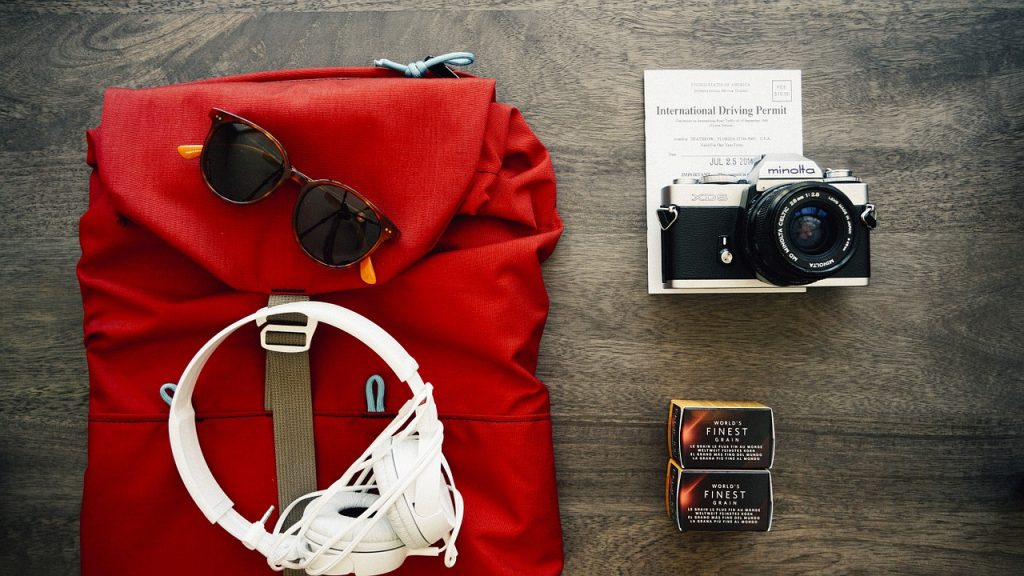 Your packing list for flashpacking