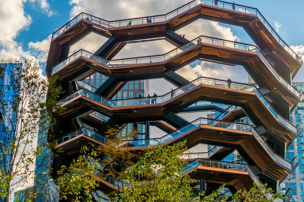 The vessel at hudson yards in NYC is an instagrammable spot