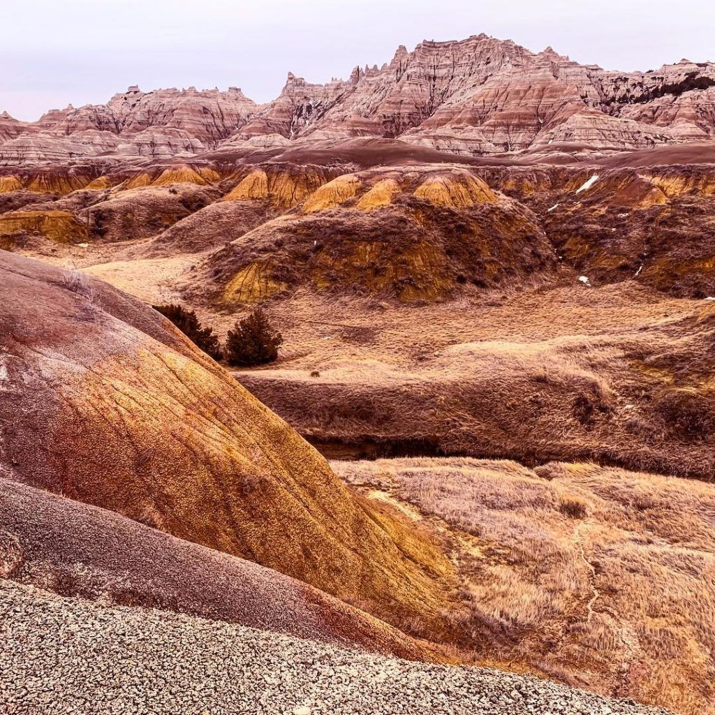 Traveling the Badlands is a great adventure.