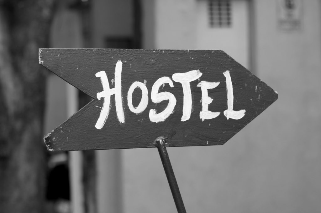 Etiquette rules for staying in a hostel.