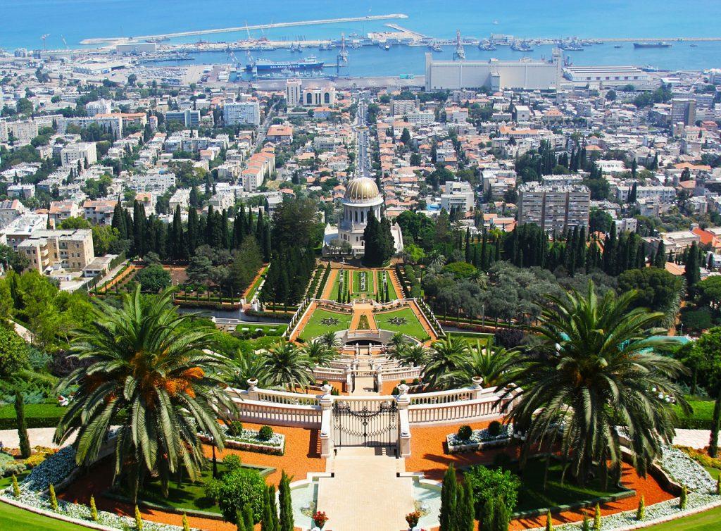Bahai Gardens in Israel.