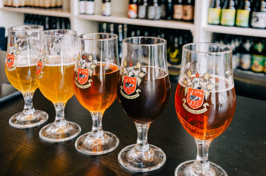 The wide range of flavors, brands, brewing processes and ingredients is one of the main reasons why Belgian beers are so popular.